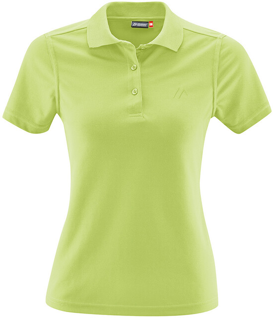 Maier Sports Ulrike Polo Damer, sap green
